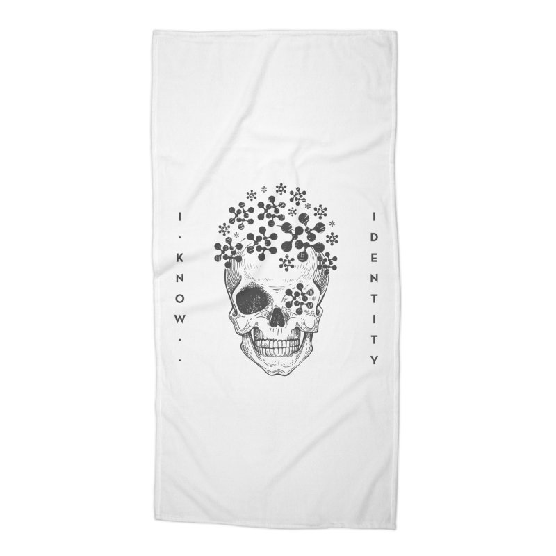 The Devil You KNOW (Black) Accessories Beach Towel by KNOW Identity
