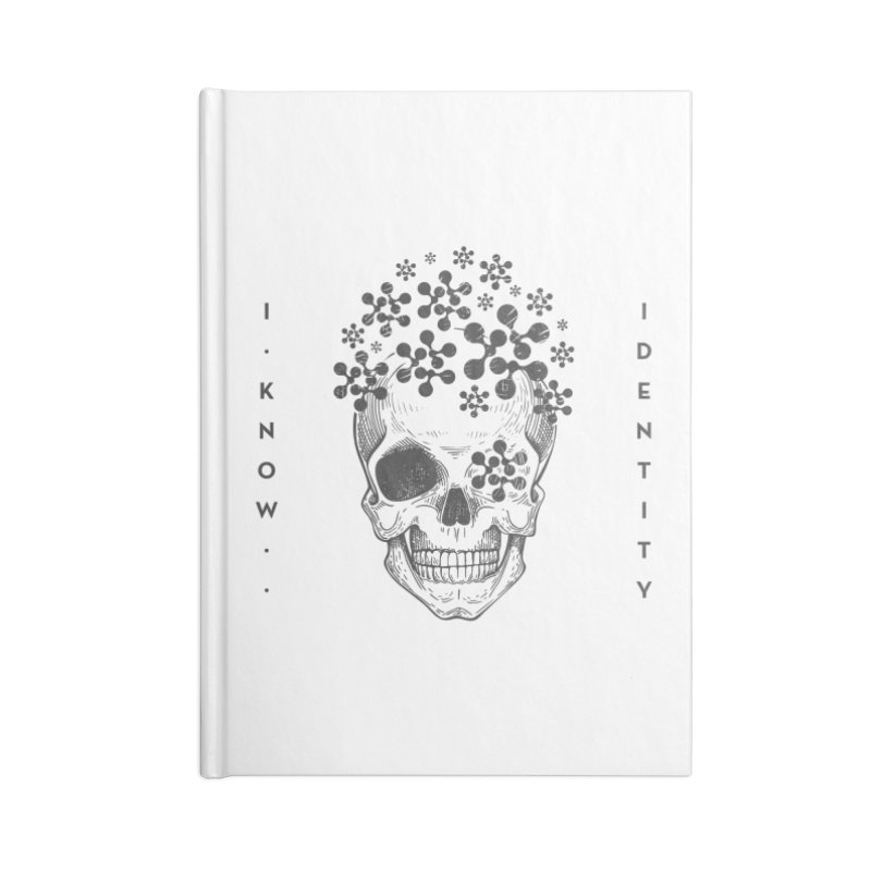 The Devil You KNOW (Black) Accessories Blank Journal Notebook by KNOW Identity