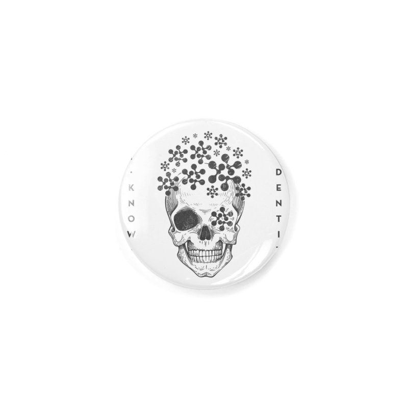 The Devil You KNOW (Black) Accessories Button by KNOW Identity