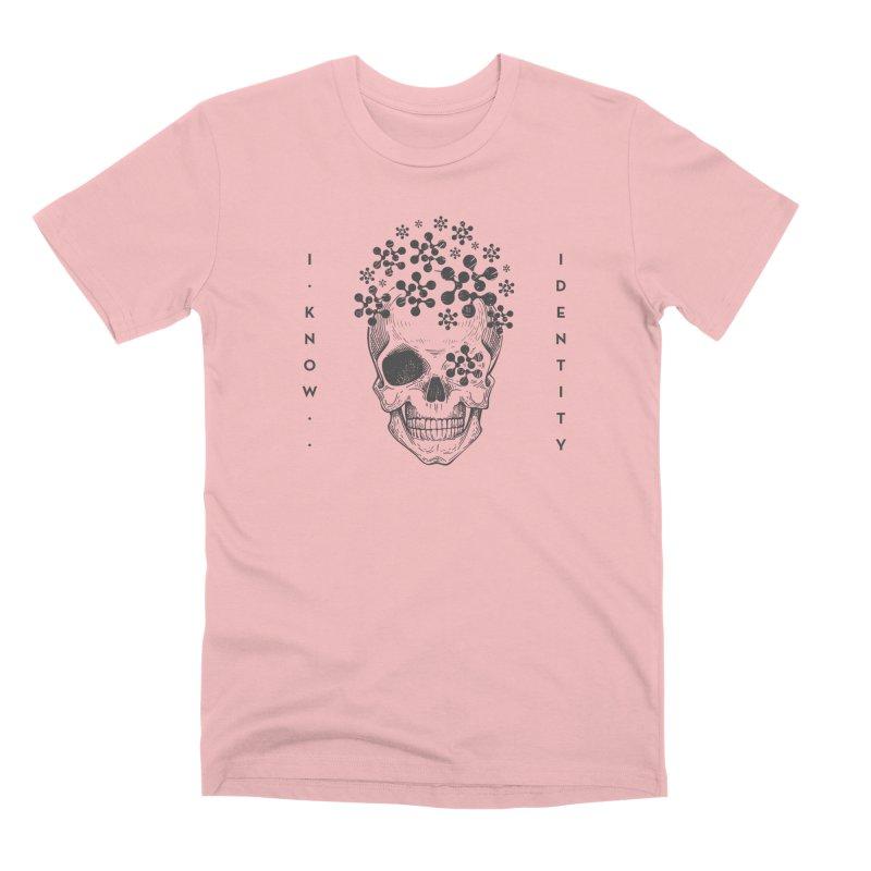 The Devil You KNOW (Black) Men's Premium T-Shirt by KNOW Identity