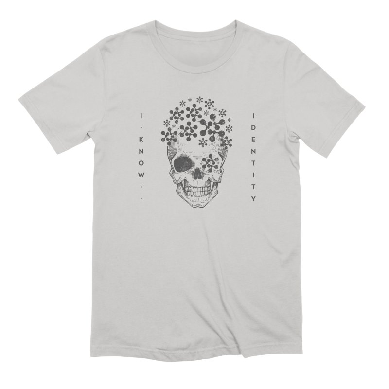 The Devil You KNOW (Black) Men's T-Shirt by KNOW Identity