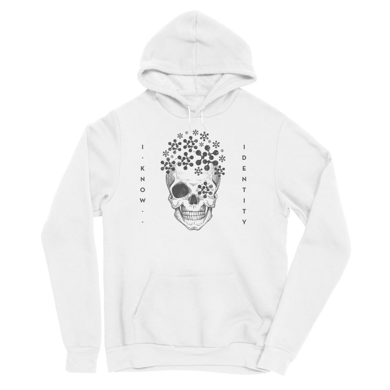 The Devil You KNOW (Black) Men's Sponge Fleece Pullover Hoody by KNOW Identity