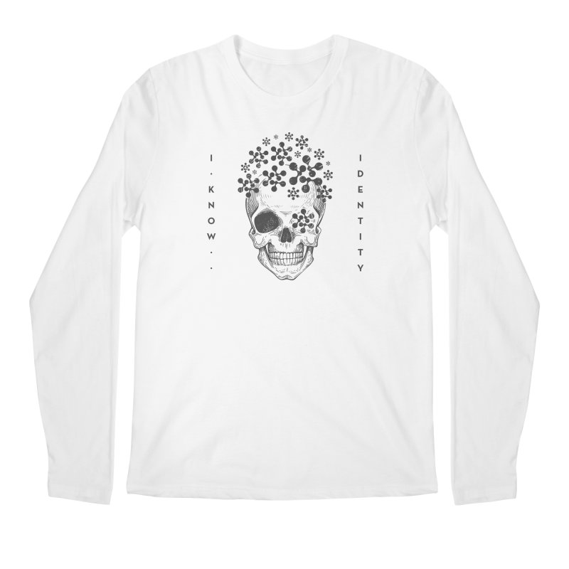 The Devil You KNOW (Black) Men's Regular Longsleeve T-Shirt by KNOW Identity