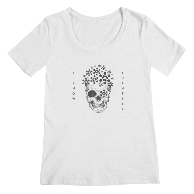 The Devil You KNOW (Black) Women's Regular Scoop Neck by KNOW Identity