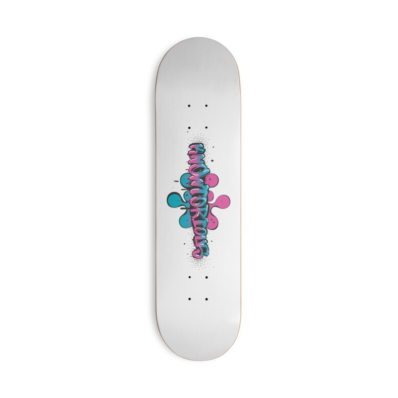 KNOWtorious Accessories Skateboard by KNOW Identity