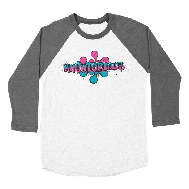 KNOWtorious Men's Baseball Triblend Longsleeve T-Shirt by KNOW Identity