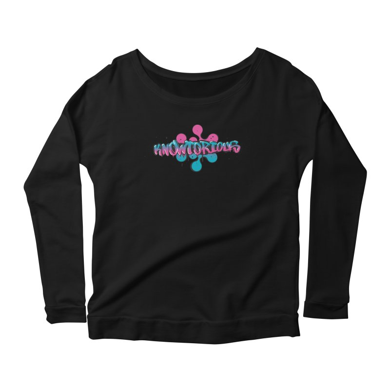 KNOWtorious Women's Scoop Neck Longsleeve T-Shirt by KNOW Identity