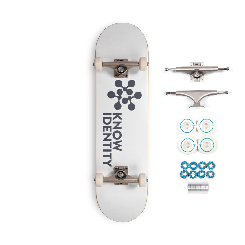 Need to KNOW Accessories Complete - Basic Skateboard by KNOW Identity