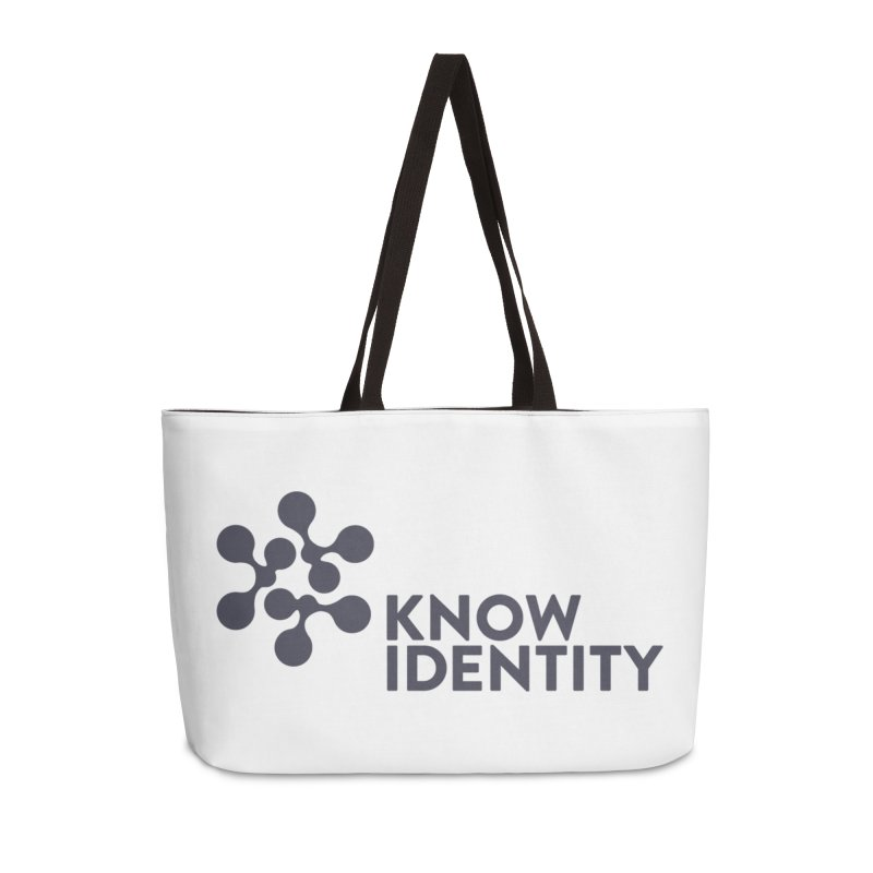 Need to KNOW Accessories Weekender Bag Bag by KNOW Identity