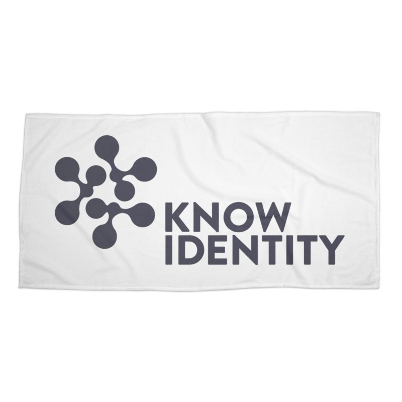 Need to KNOW Accessories Beach Towel by KNOW Identity