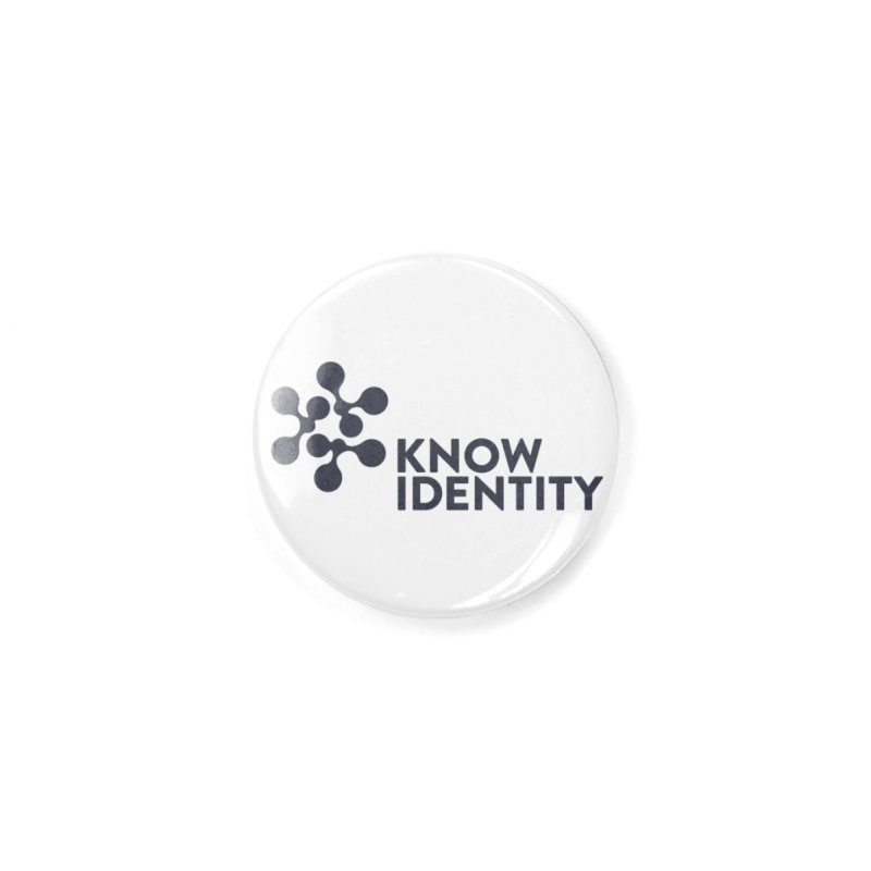 Need to KNOW Accessories Button by KNOW Identity