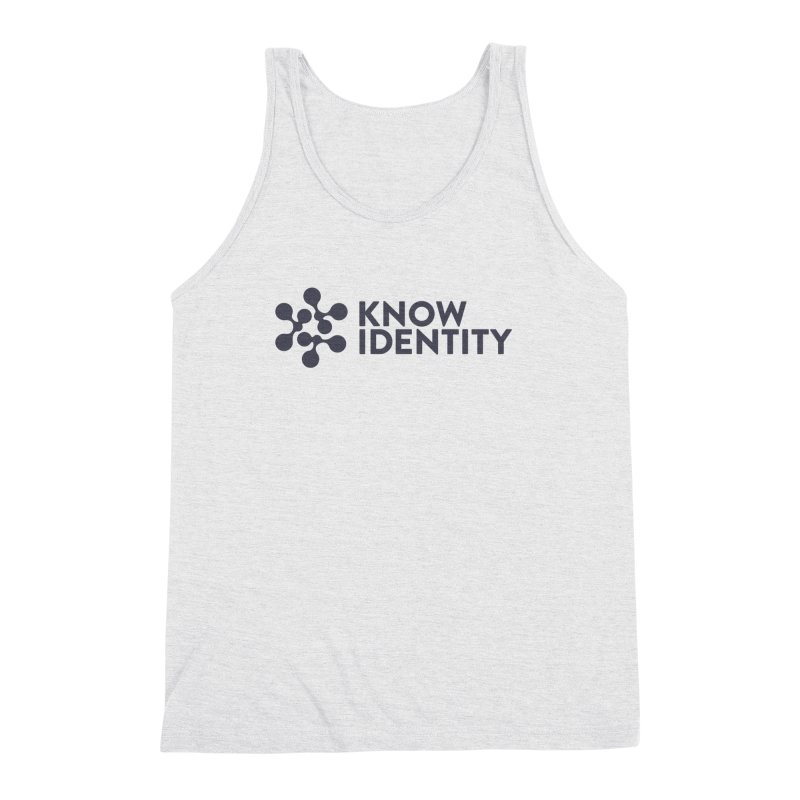 Need to KNOW Men's Triblend Tank by KNOW Identity