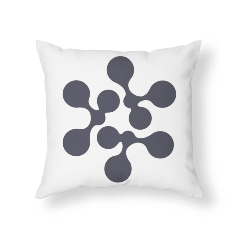 KNOW Node Home Throw Pillow by KNOW Identity