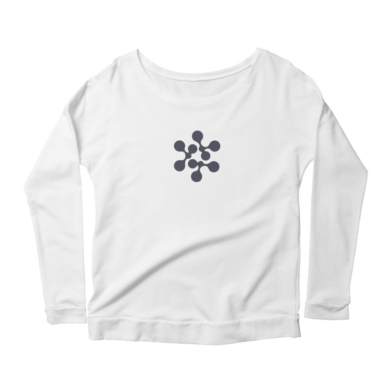 KNOW Node Women's Scoop Neck Longsleeve T-Shirt by KNOW Identity