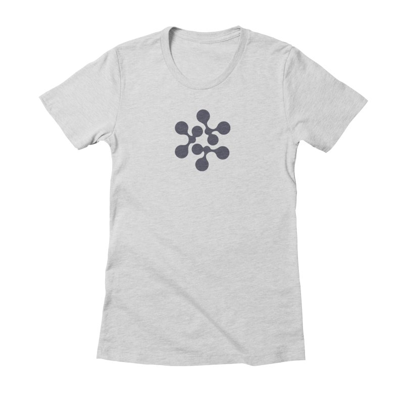 KNOW Node Women's Fitted T-Shirt by KNOW Identity