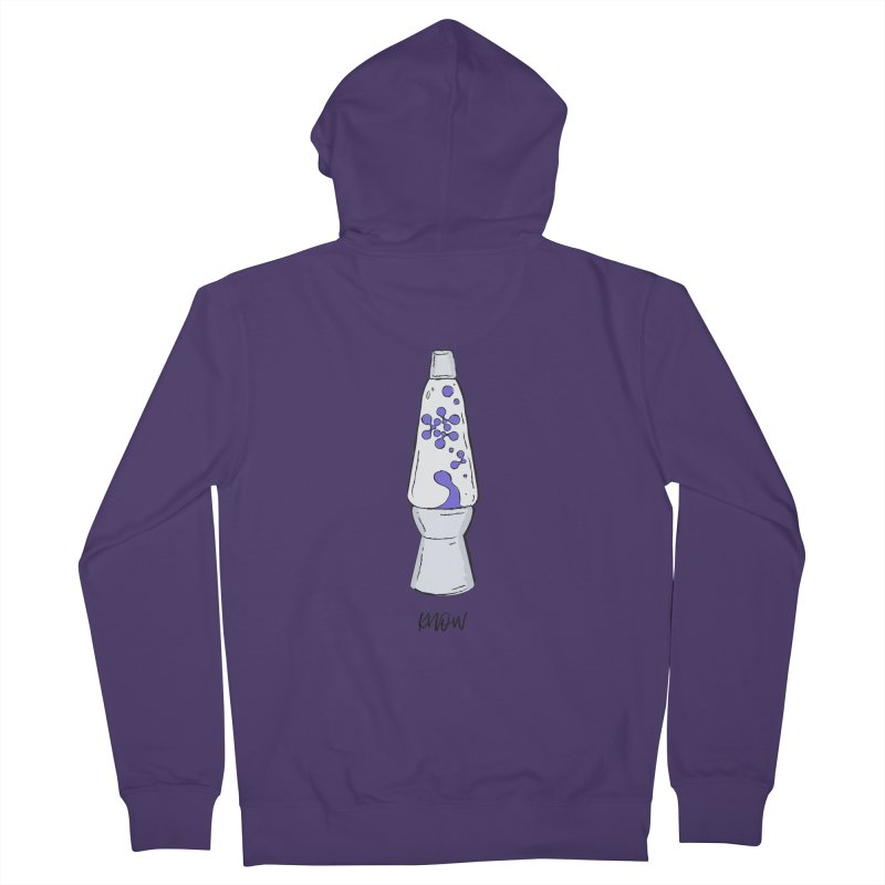 KNOW It All (Purple) Women's Zip-Up Hoody by KNOW Identity