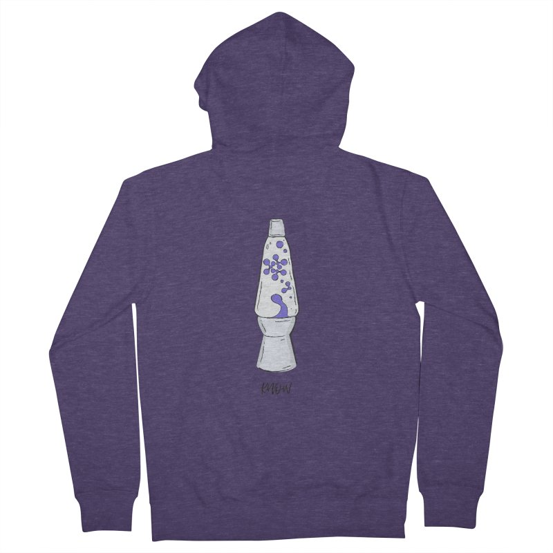 KNOW It All (Purple) Men's Zip-Up Hoody by KNOW Identity