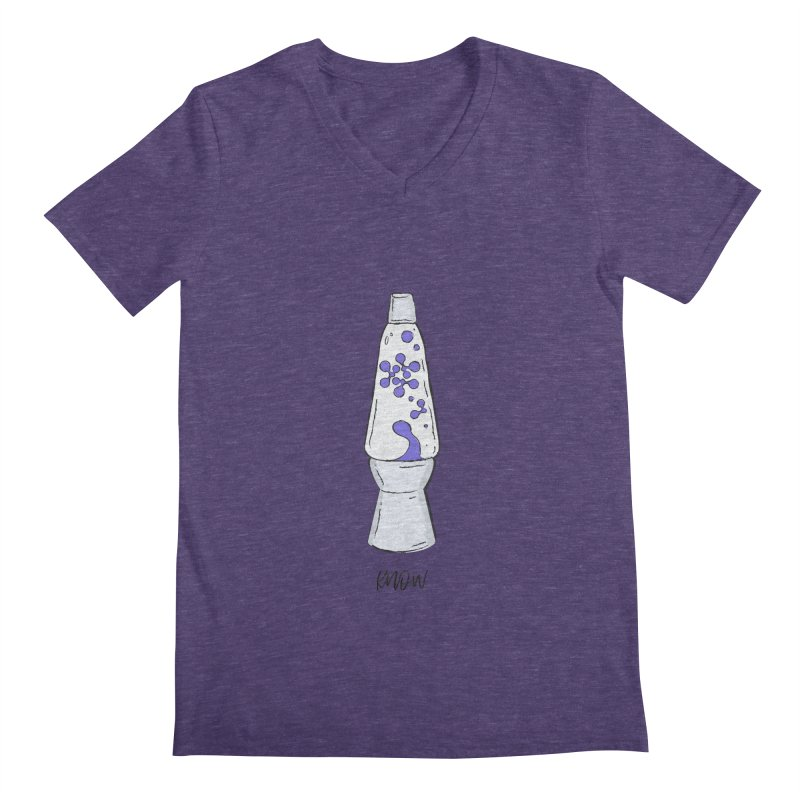 KNOW It All (Purple) Men's Regular V-Neck by KNOW Identity