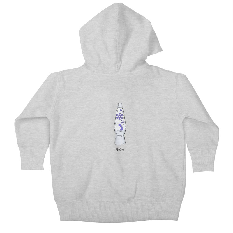 KNOW It All (Purple) Kids Baby Zip-Up Hoody by KNOW Identity