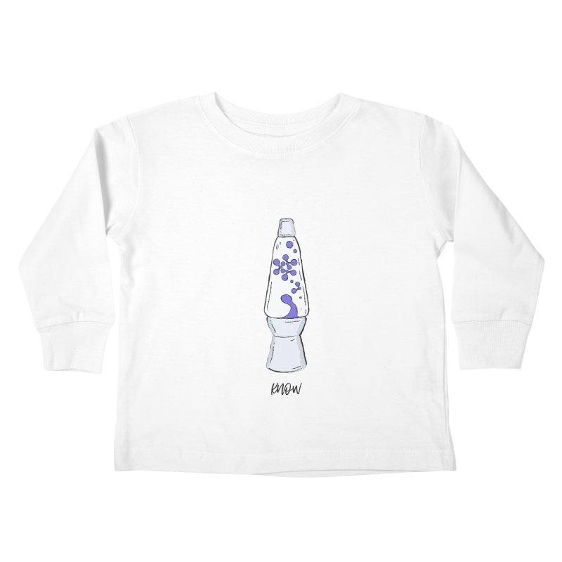 KNOW It All (Purple) Kids Toddler Longsleeve T-Shirt by KNOW Identity