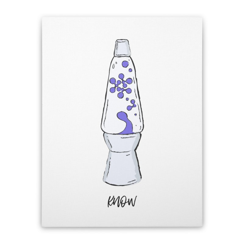 KNOW It All (Purple) Home Stretched Canvas by KNOW Identity