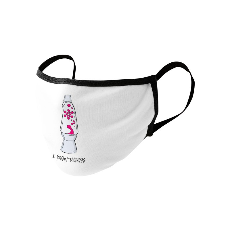 KNOW It All (Pink) Accessories Face Mask by KNOW Identity