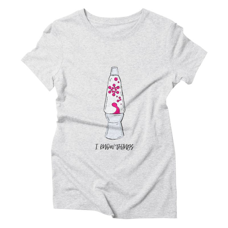 KNOW It All (Pink) Women's Triblend T-Shirt by KNOW Identity