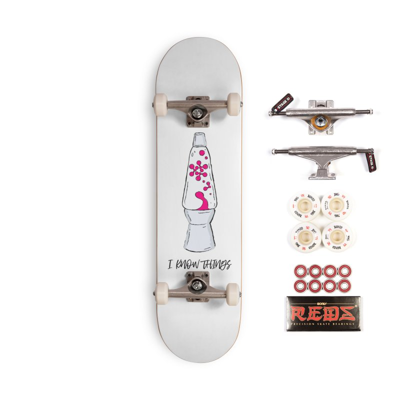 KNOW It All (Pink) Accessories Complete - Pro Skateboard by KNOW Identity