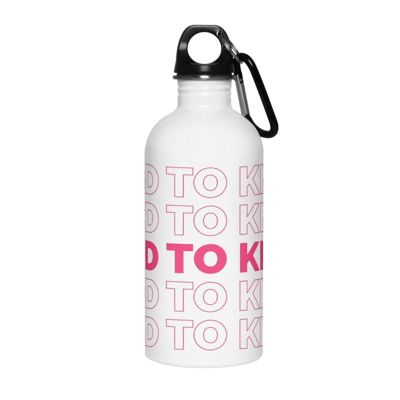 Good to KNOW Accessories Water Bottle by KNOW Identity