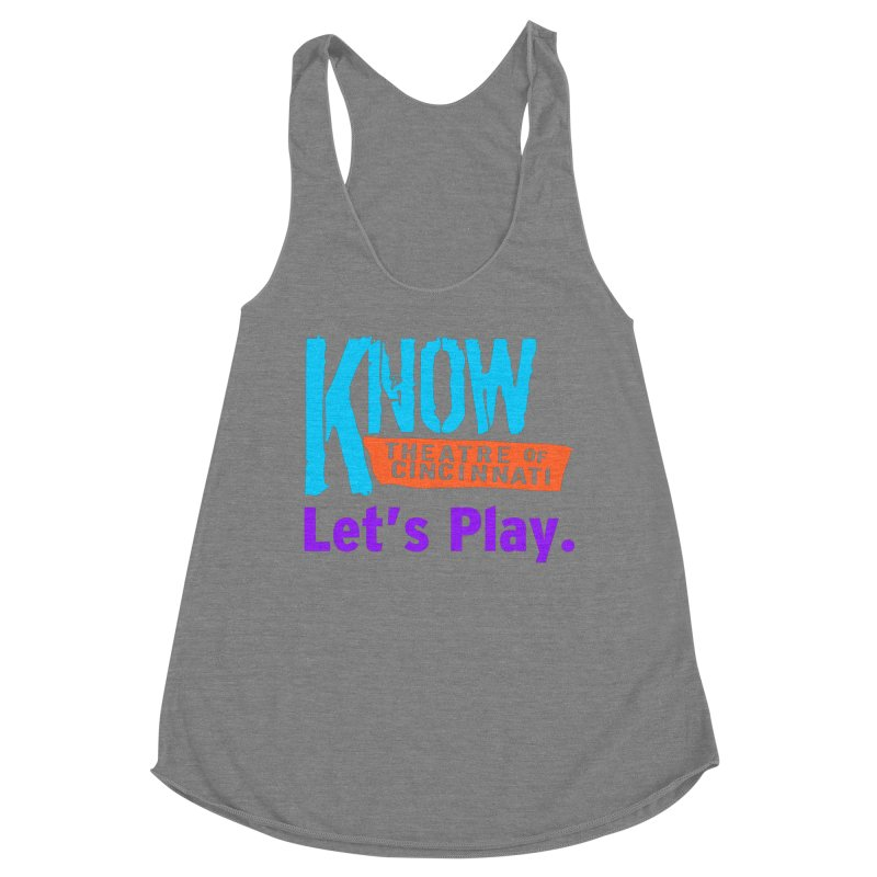 Let's Play. Women's Tank by Know Theatre's Sweet Swag Store!