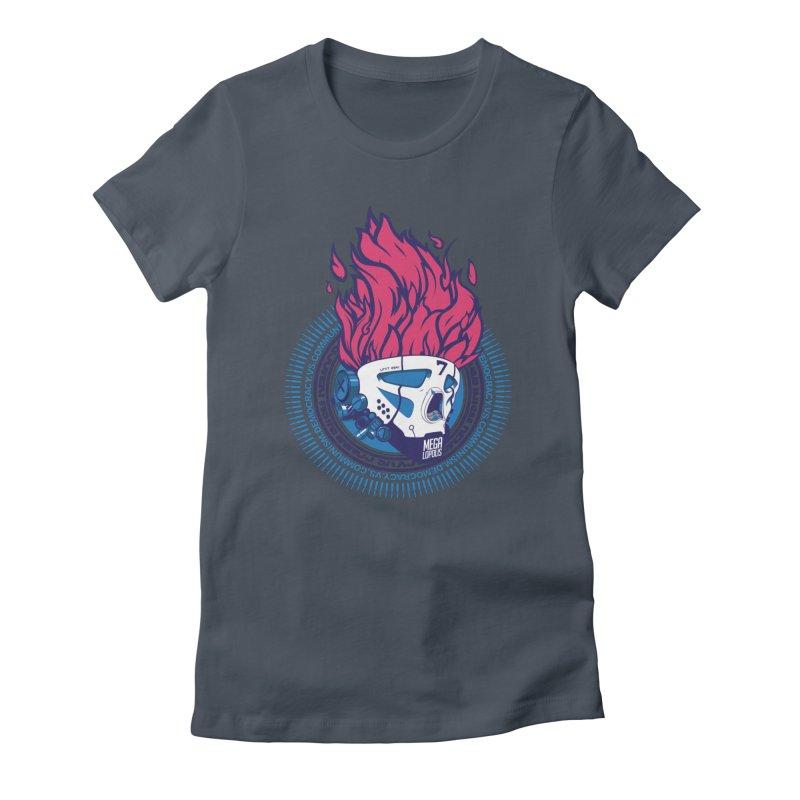 METROPOLIS... Women's T-Shirt by KOBALT7threadless