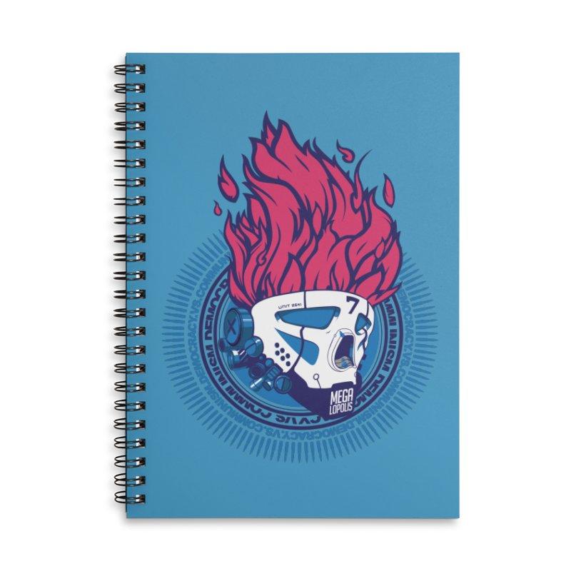 METROPOLIS... Accessories Notebook by KOBALT7threadless