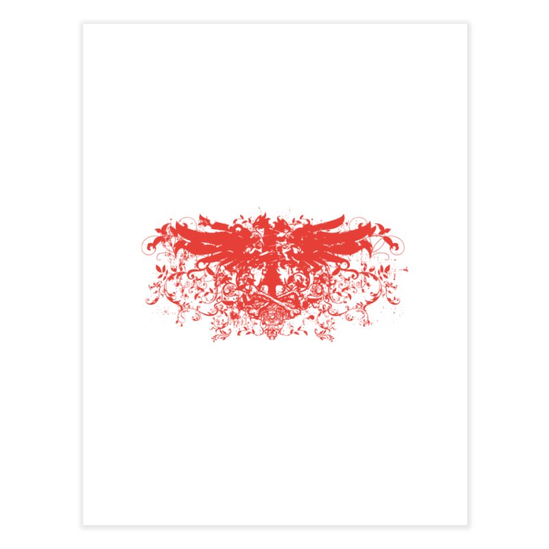 PHE:NIX Home Fine Art Print by KOBALT7threadless