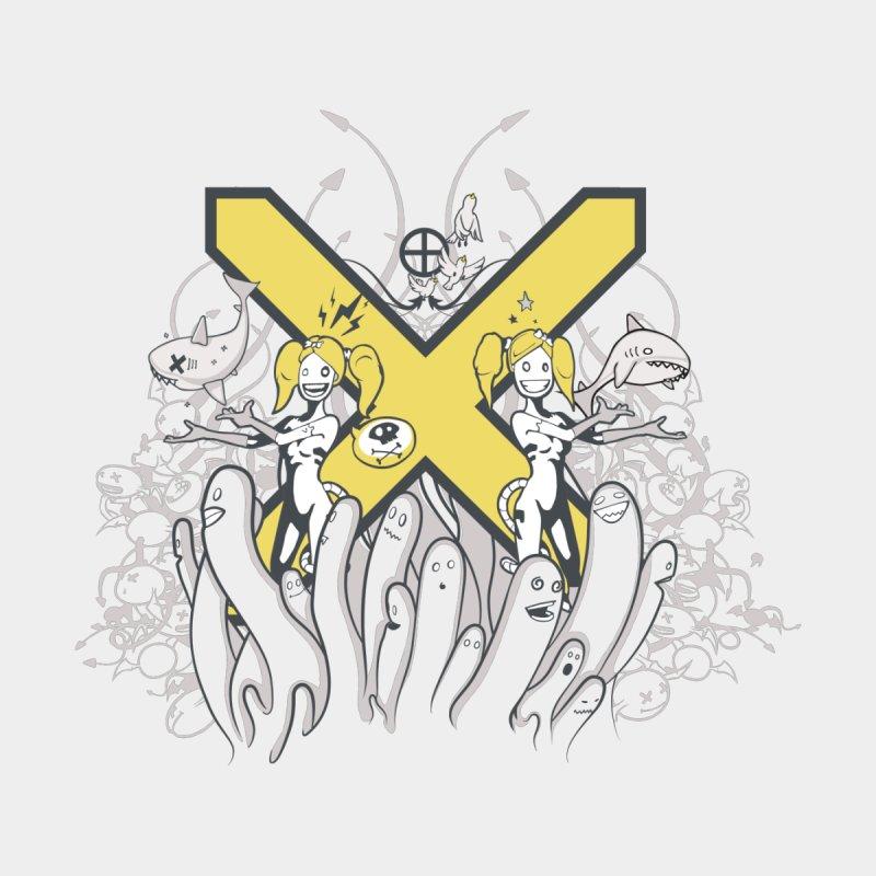PLAN3T X-Y Kids Baby Bodysuit by KOBALT7threadless