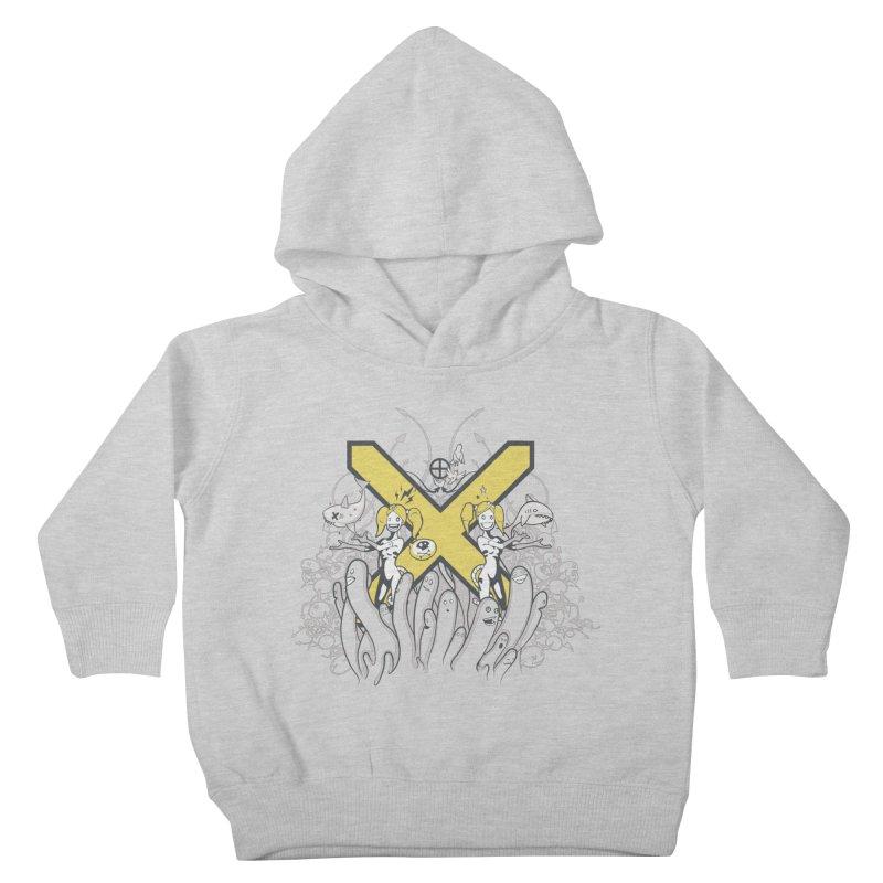PLAN3T X-Y Kids Toddler Pullover Hoody by KOBALT7threadless