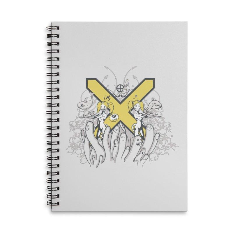 PLAN3T X-Y Accessories Notebook by KOBALT7threadless