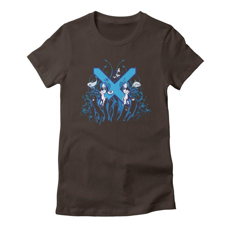 PLAN3T X-B Women's T-Shirt by KOBALT7threadless