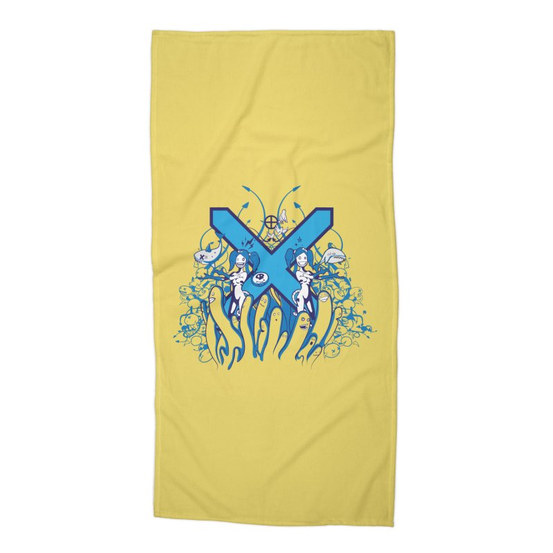 PLAN3T X-B Accessories Beach Towel by KOBALT7threadless