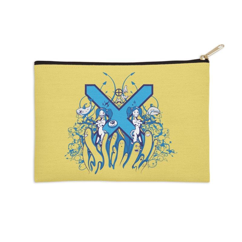PLAN3T X-B Accessories Zip Pouch by KOBALT7threadless