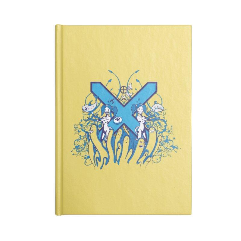 PLAN3T X-B Accessories Notebook by KOBALT7threadless