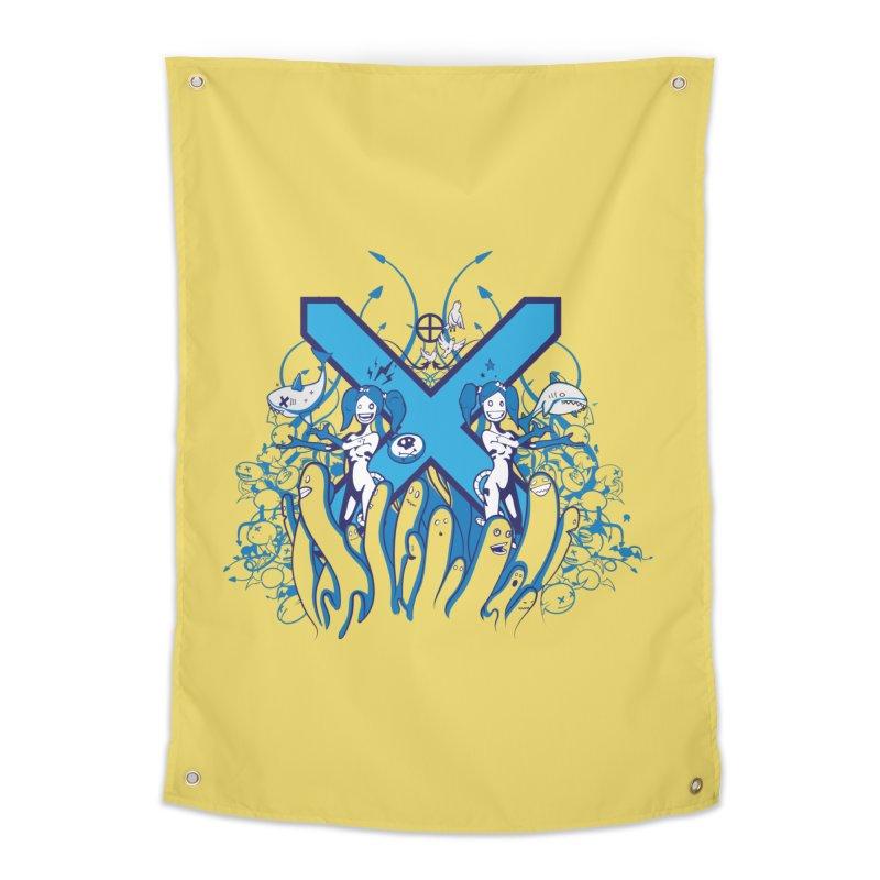 PLAN3T X-B Home Tapestry by KOBALT7threadless