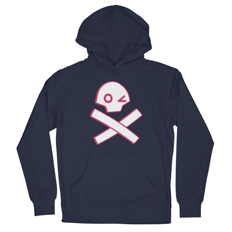 hipster pirate Men's Pullover Hoody by KOBALT7threadless