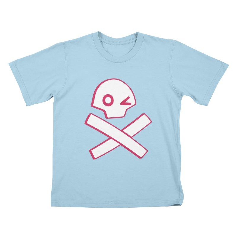 hipster pirate Kids T-Shirt by KOBALT7threadless