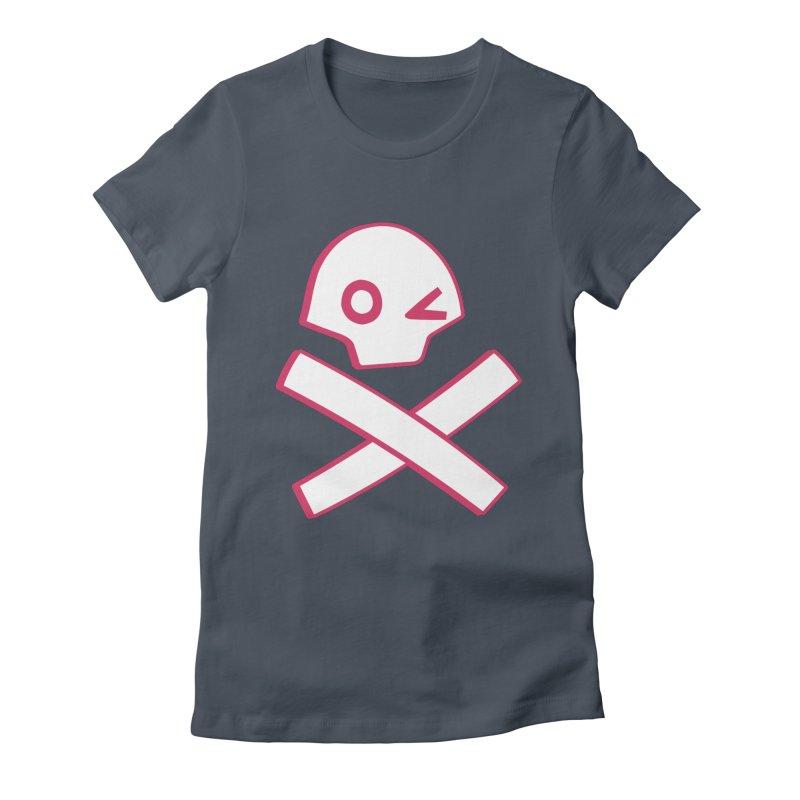 hipster pirate Women's T-Shirt by KOBALT7threadless