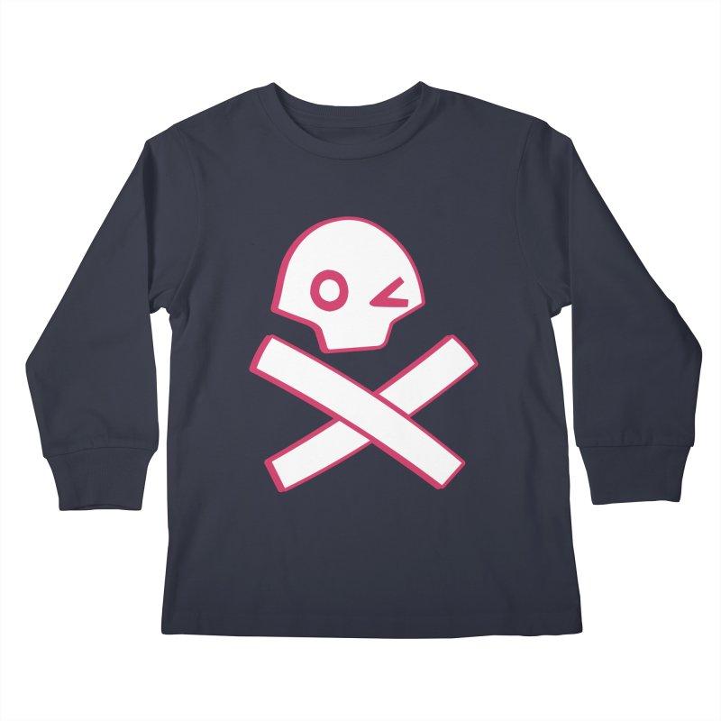 hipster pirate Kids Longsleeve T-Shirt by KOBALT7threadless