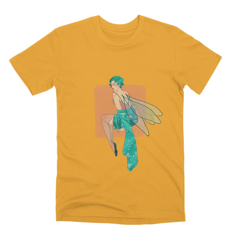 Pin-up Pixie Men's Premium T-Shirt by Kobrah's Artist Shop