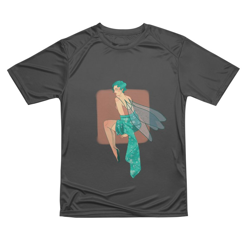 Pin-up Pixie Women's Performance Unisex T-Shirt by Kobrah's Artist Shop
