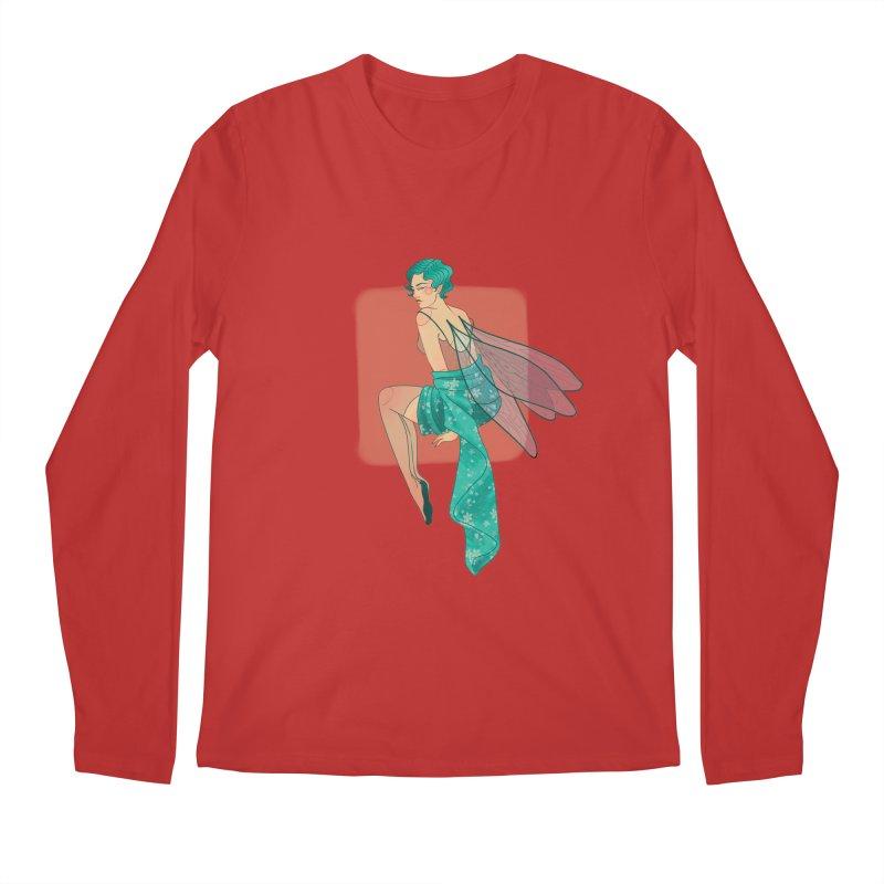 Pin-up Pixie Men's Regular Longsleeve T-Shirt by Kobrah's Artist Shop