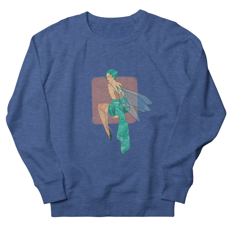 Pin-up Pixie Women's French Terry Sweatshirt by Kobrah's Artist Shop