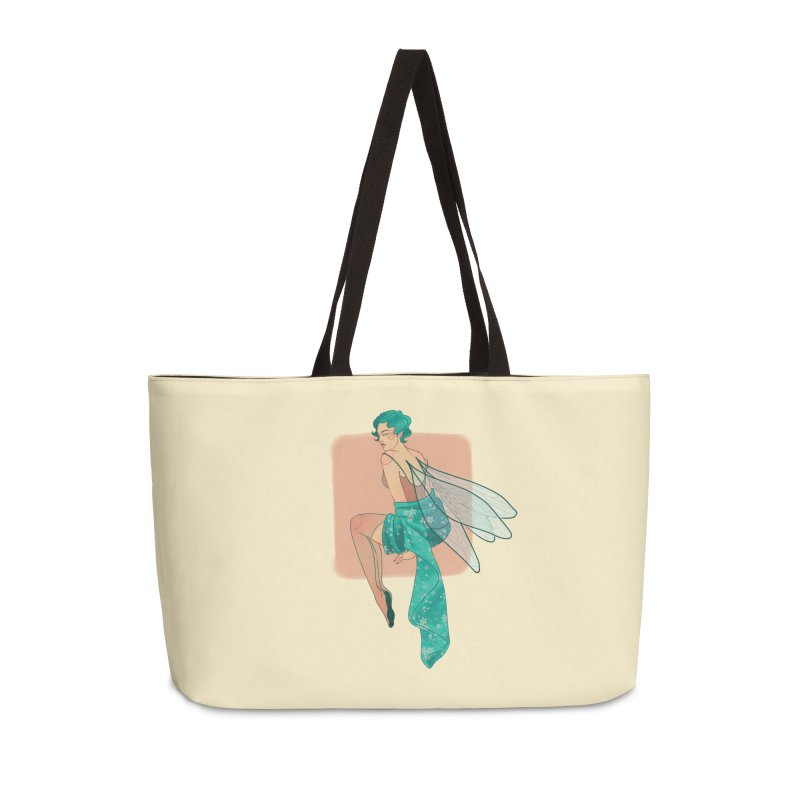 Pin-up Pixie Accessories Weekender Bag Bag by Kobrah's Artist Shop